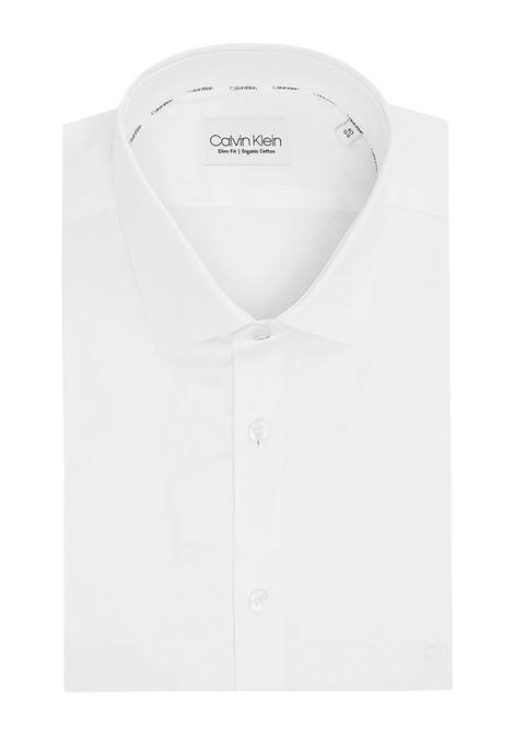Camicia Bianca slim fit CALVIN KLEIN | 6 | K10K1082290K4