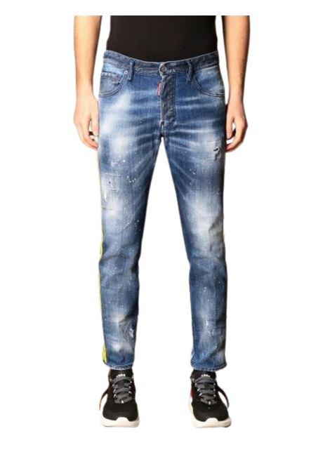 Jeans in denim con rotture DSQUARED2 | 24 | S74LB0845470