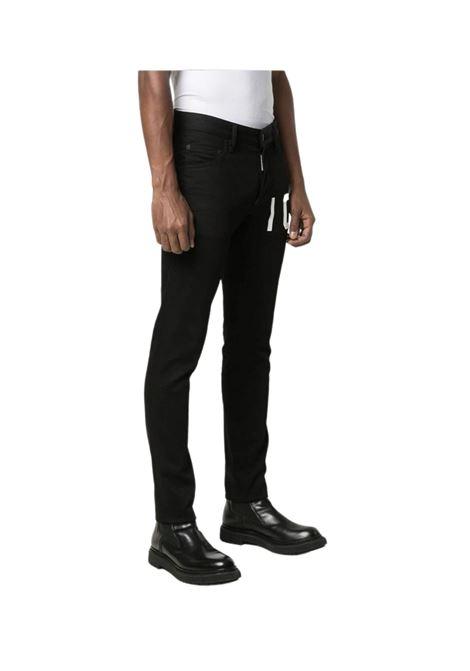 Jeans slim con applicazione DSQUARED2 | 24 | S79LA0017900
