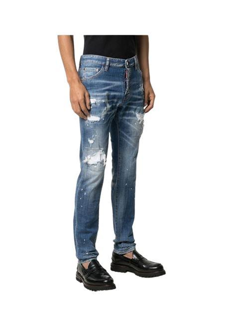 Jeans slim effetto vissuto DSQUARED2 | 24 | S79LA0021470