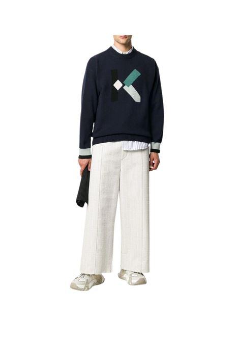 Maglione con design color-block Kenzo | 7 | FA65PU5353LD76