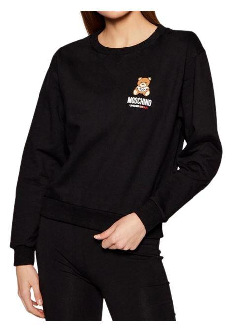 Felpa con logo Moschino | -108764232 | A171390040555