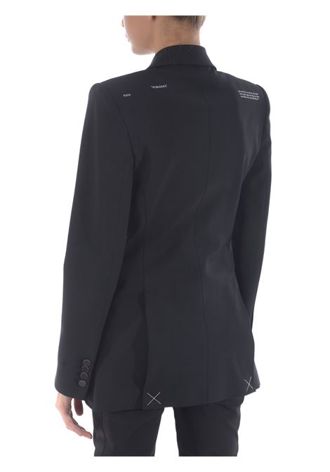 Blazer in misto lana OFF WHITE | 3 | OWEF049E20FAB0021000