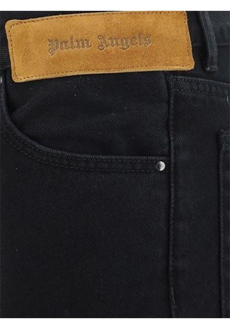 Jeans con stampa PALM ANGELS | 24 | PMYA012S21DEN0051001