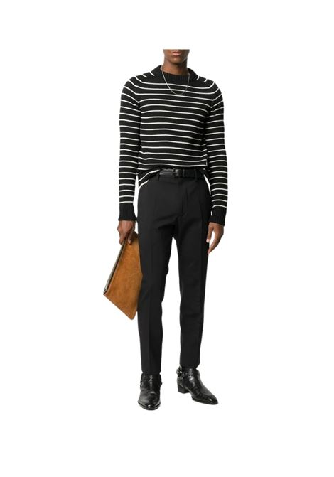 Maglione a righe SAINT LAURENT | 7 | 631514YARY21095