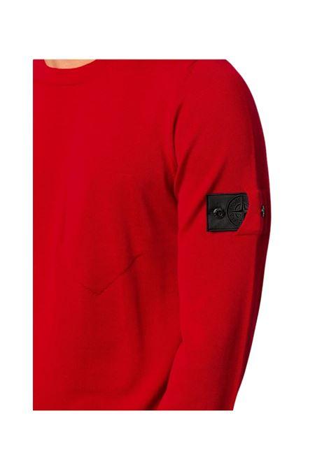 Maglione con logo Stone Island | 7 | 7319505A4V0010