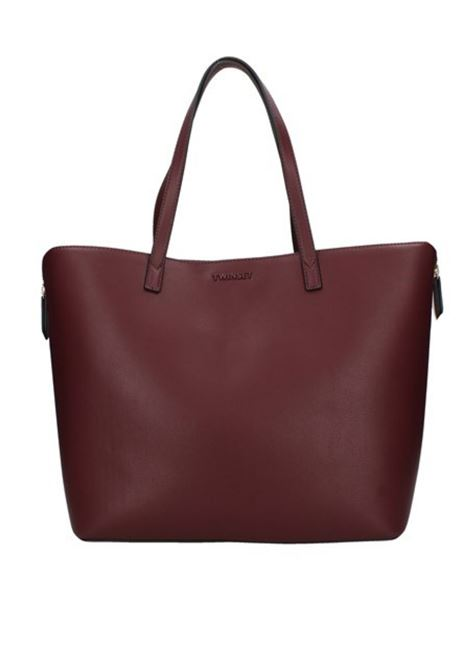 Shopping bag in eco-pelle TWIN-SET | 31 | 212TB706A0097S