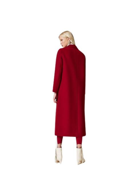 Cappotto lungo in panno double TWIN-SET | 17 | 212TP20120097S