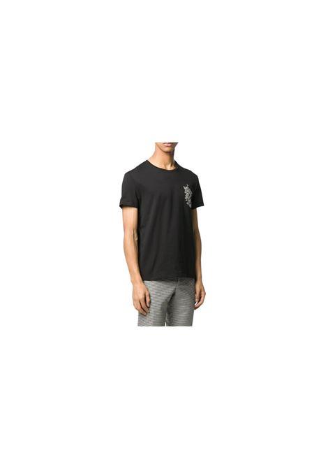 T-SHIRT CON LOGO Alexander McQueen | 8 | 599549QOZ62NERO