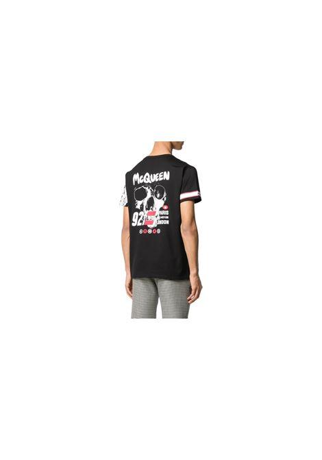 T-SHIRT SKULL Alexander McQueen | 8 | 599566QOZ69NERO
