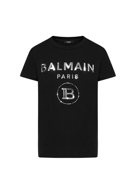 T-SHIRT CON LOGO BALMAIN | 8 | UH01601I340OPA