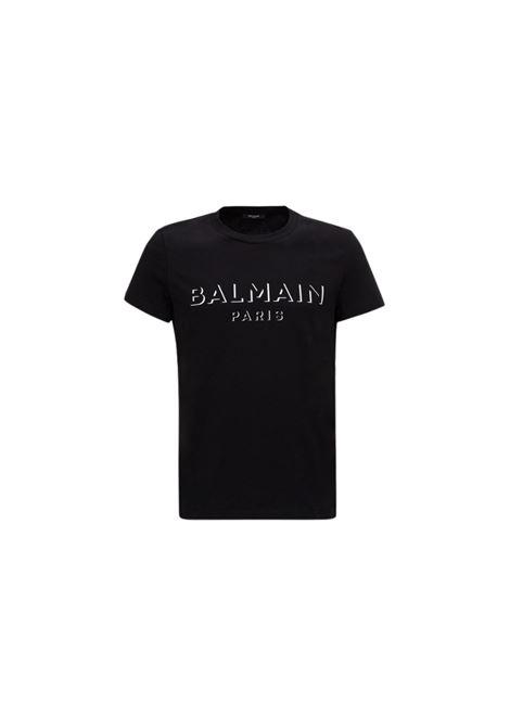 T-SHIRT CON STAMPA BALMAIN | 8 | UH11601I364OPA