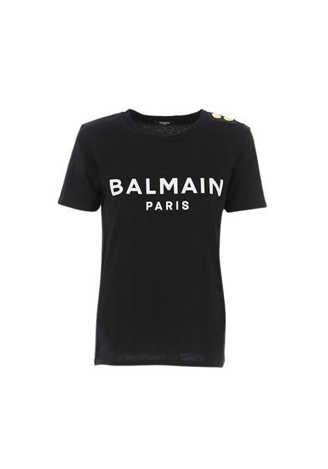 T-SHIRT CON LOGO BALMAIN | 8 | VF11350B001EAB