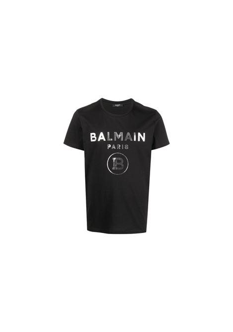 T-SHIRT CON STAMPA. BALMAIN | 8 | VH1EF000B043B066