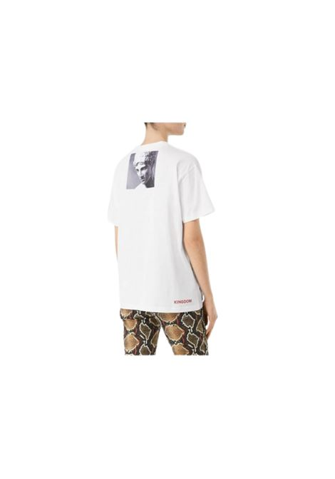 T-SHIRT CON STAMPA OVERSIZE Burberry | 8 | WINANSP84105656
