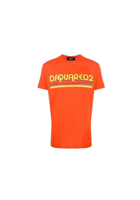 T-SHIRT CON STAMPA DSQUARED2 | 8 | S71GD0887S22427187