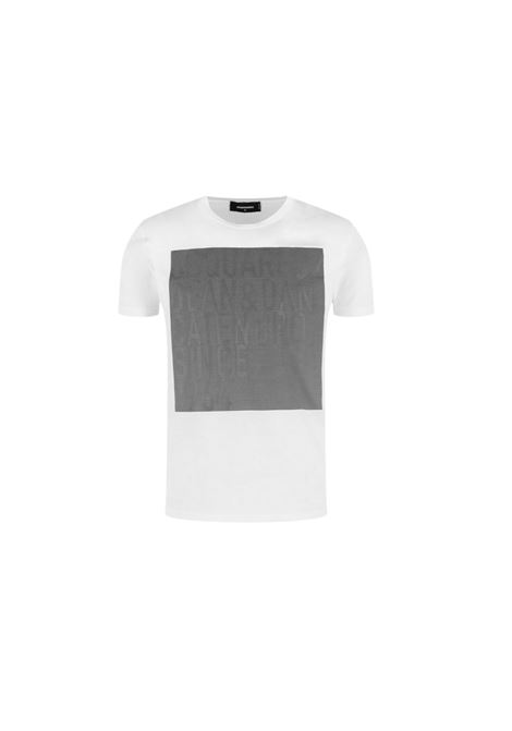 T-SHIRT CON STAMPA DSQUARED2 | 8 | S74GD0646S22427100