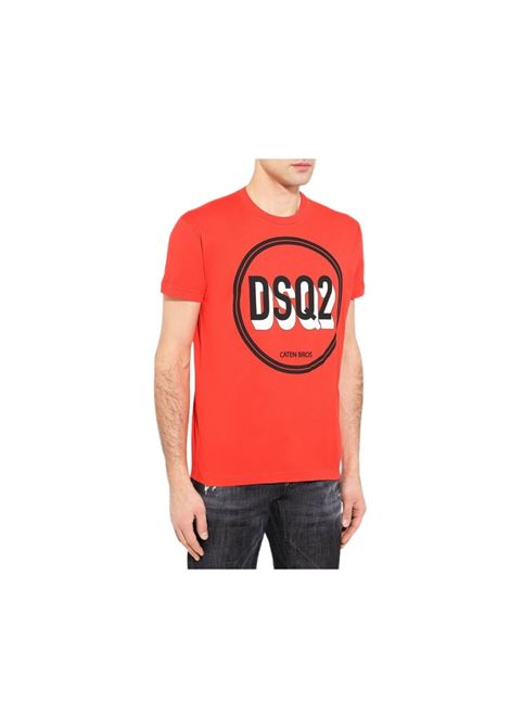 T-SHIRT CON STAMPA DSQUARED2 | 8 | S74GD0659S22427304