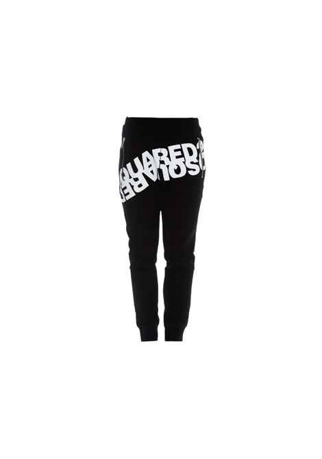 MIRRORED LOGO SWEATPANTS DSQUARED2 | 9 | S74KB0377S25042900
