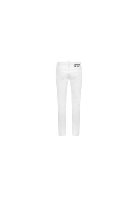 JEANS WHITE BULL DSQUARED2 | 24 | S74LB0862S39781100