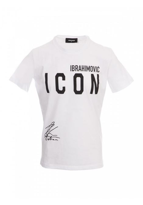 T-SHIRT ICON IBRA DSQUARED2 | 8 | S79GC0024100