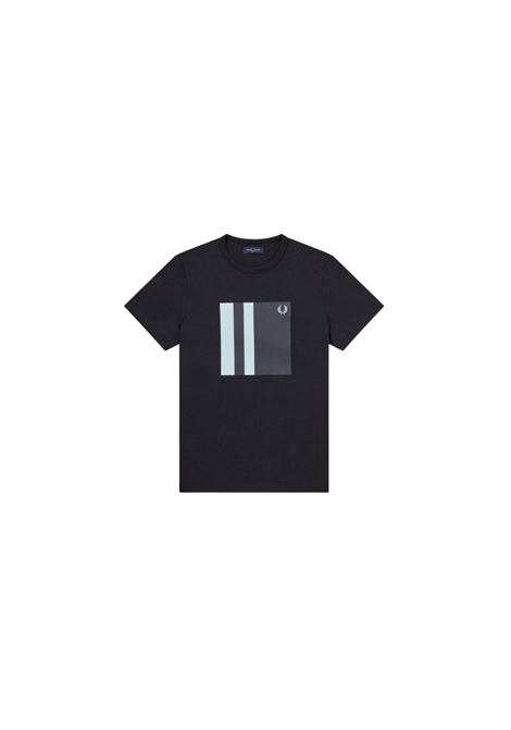 T-SHIRT GIROCOLLO FRED PERRY   8   M853633608