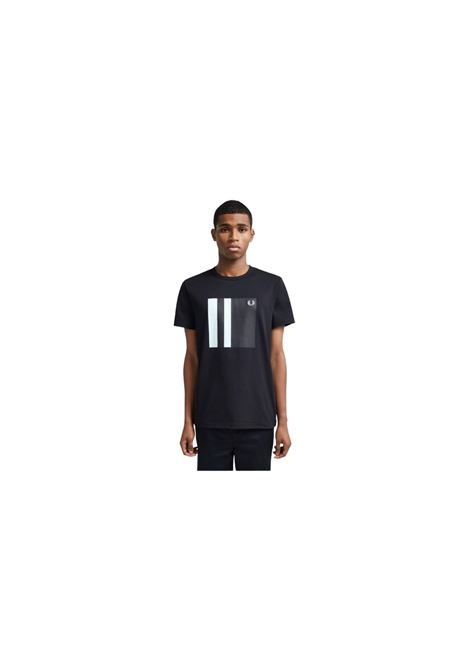 T-SHIRT GIROCOLLO FRED PERRY | 8 | M853633608