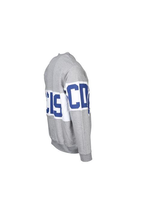 FELPA CON LOGO GCDS | -108764232 | CC94M021012GRIGIO