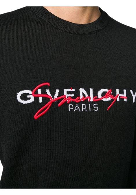 Maglione con ricamo GIVENCHY | 7 | BM90B1404XNERO