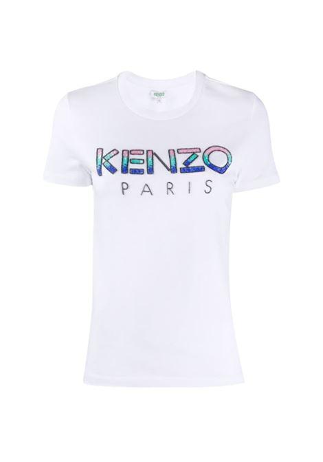 T-SHIRT CON LOGO DECORATO. Kenzo | 8 | FA52TS82193601