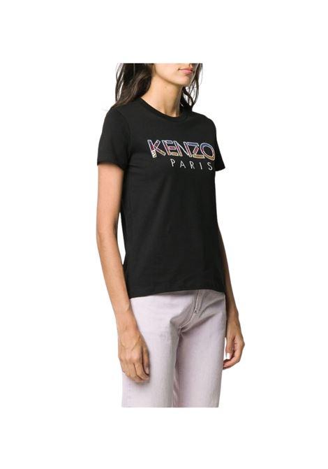 T-SHIRT CON LOGO DECORATO Kenzo | 8 | FA52TS82193699