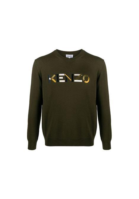 Maglia girocollo in lana Kenzo | 7 | FA65PU5413LA50