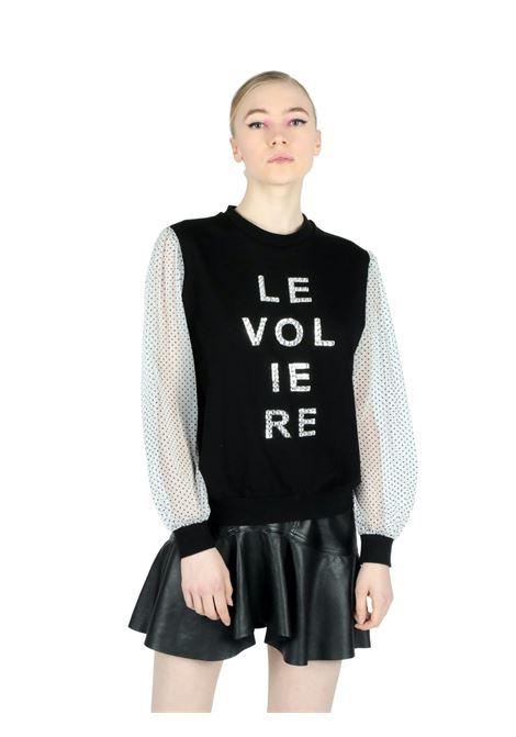 FELPA CON STAMPA Le Voliére | -108764232 | WS21F028SBLACK