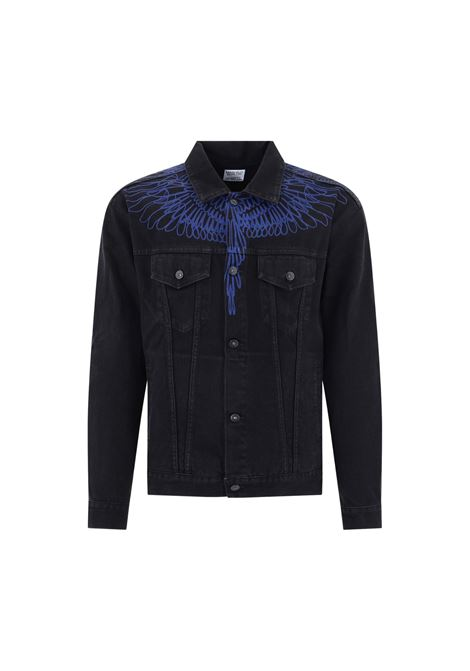 GIUBBINO DENIM PICTORIAL WINGS MARCELO BURLON | 13 | CMYE001E20DEN0031045