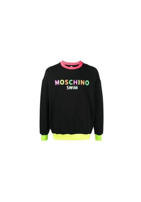 FELPA CON COLLO A CONTRASTO Moschino | -108764232 | A1701 2317555