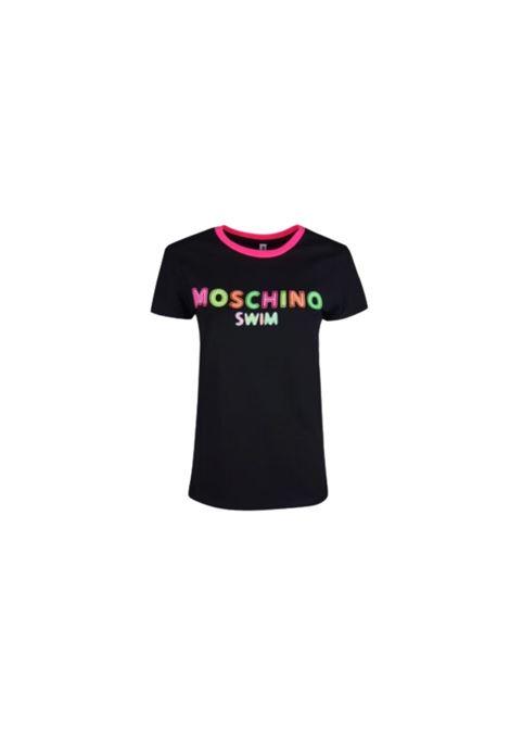T-SHIRT CON LOGO Moschino | 8 | A190221160555