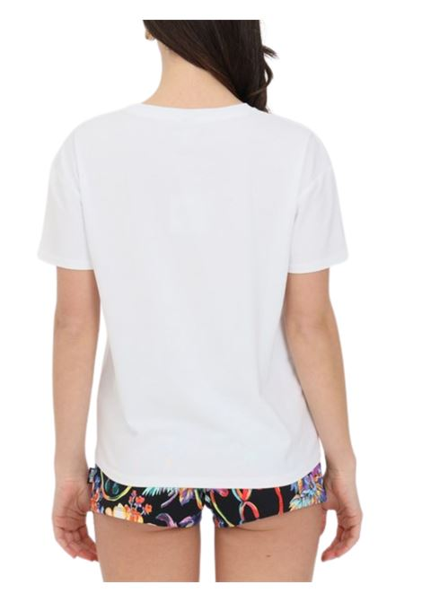 T-SHIRT CON STAMPA Moschino   8   A190621160001