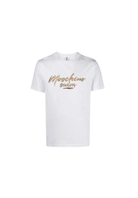 T-SHIRT CON STAMPA Moschino | 8 | A190823250001