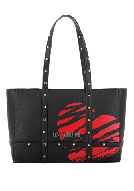BORSA TOTE SCRATCHED HEART Moschino | 31 | JC4076PP1CLG100A