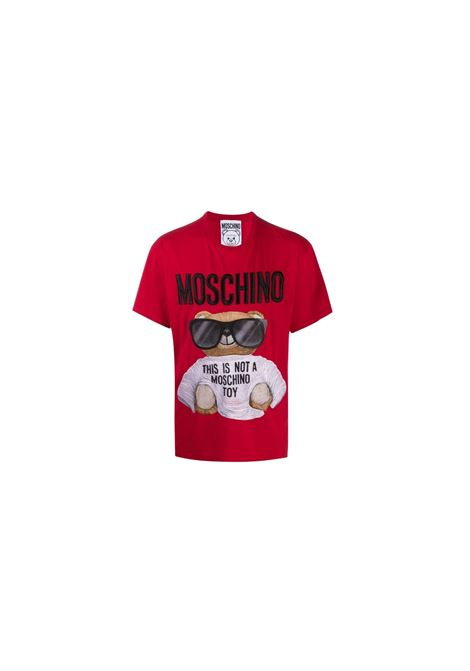 T-SHIRT TEDDY BEAR CON STAMPA Moschino | 8 | V070252402115