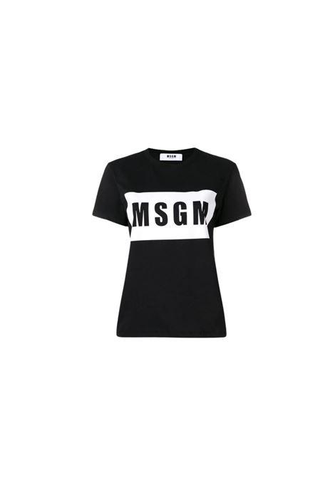 T-SHIRT CON LOGO MSGM | 8 | 2641MDM9519529899