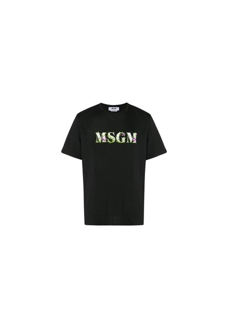 T-SHIRT CON STAMPA MSGM | 8 | 2940MM22020759899