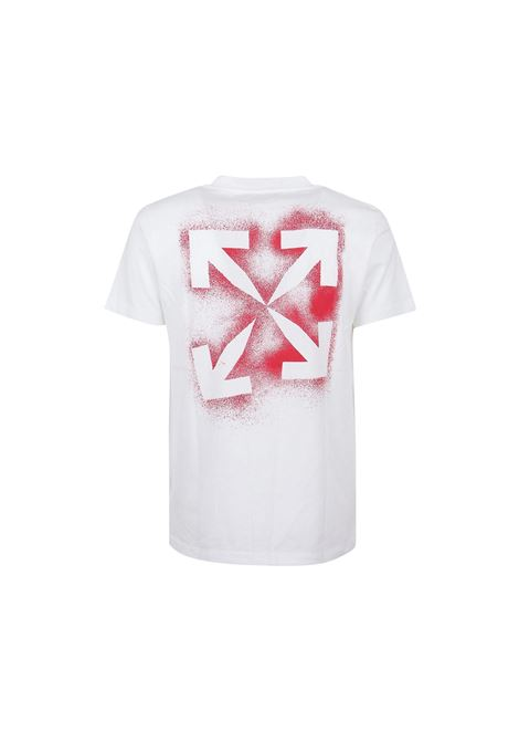 T-SHIRT CON STAMPA OFF WHITE | 8 | OMAA027E20JER000125