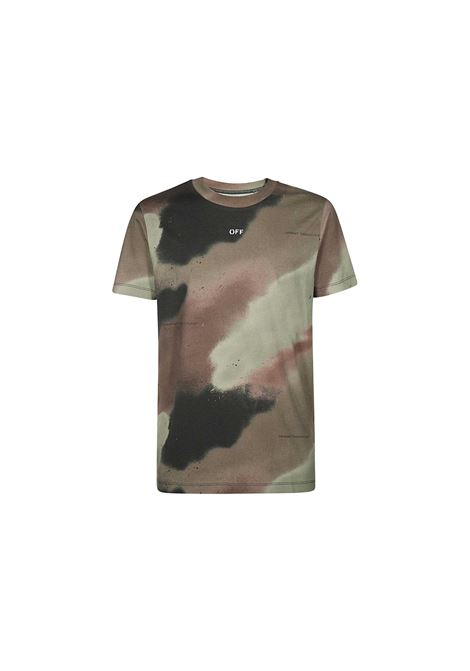 T-SHIRT CON STAMPA OFF WHITE | 8 | OMAA027E20JER0076001