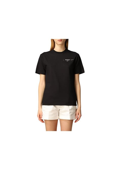 T-SHIRT CON STAMPA OFF WHITE | 8 | OWAA049S20JER0031001