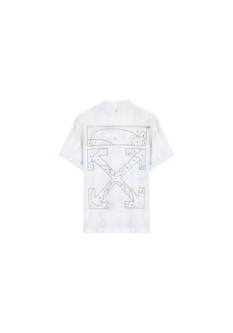 T-SHIRT CON STAMPA OFF WHITE | 8 | OWAA049S20JER0044010