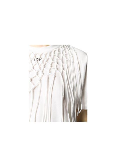 T-SHIRT A STRATI OFF WHITE | 8 | OWAA074R20F291250110