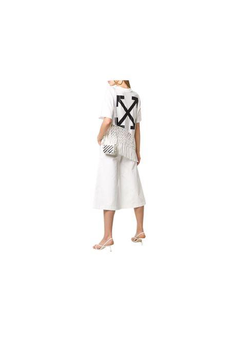 T-SHIRT ASIMMETRICA OFF WHITE | 7 | OWAA075R20F291250110