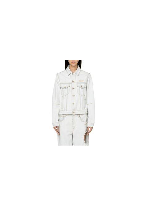 GIUBBINO JEANS OFF WHITE | 13 | OWE014S20DEN0011400