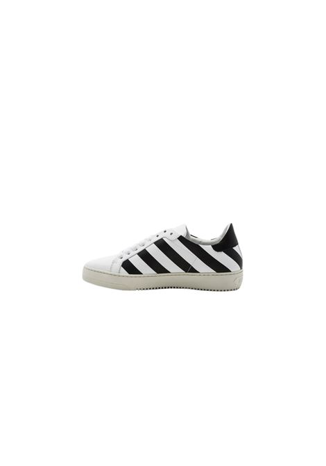 SNEAKERS IN PELLE OFF WHITE | 12 | OWIA013F161601000105BIANCO